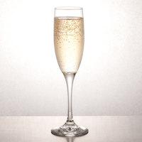 Libbey 3796 Embassy 6 oz. Tall Flute Glass - 12/Case