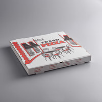 Choice 20 inch x 20 inch x 1 7/8 inch White Corrugated Pizza Box - 25/Case