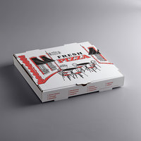 Choice 14 inch x 14 inch x 2 inch White Corrugated Pizza Box - 50/Case