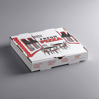 Choice 12 inch x 12 inch x 2 inch White Corrugated Pizza Box - 50/Case