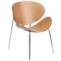 Flash Furniture SD-2268-7-GG Beech Bentwood Leisure Reception Chair