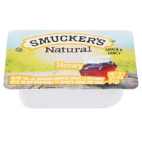 Smucker's Natural Honey .5 oz. Portion Cup - 200/Case