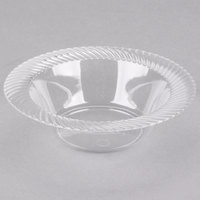 Visions Wave 6 oz. Clear Plastic Bowl - 180/Case