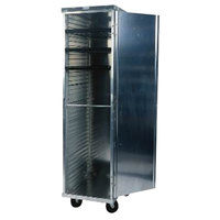 Winholt EC1840-C/LD 40 Pan End Load Enclosed Bun / Sheet Pan Rack with Clear Acrylic Door - Assembled