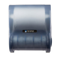 San Jamar T7100TBL Simplicity Mechanical Hands Free Paper Towel Dispenser - Arctic Blue
