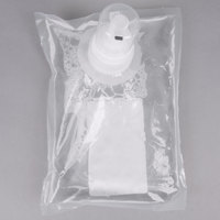 Kutol 71041 1000 mL EZ Foam Dye and Fragrance Free 72% Alcohol Hand Sanitizer Bag   - 6/Case