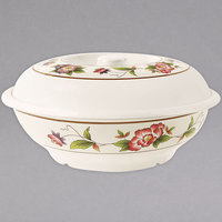 GET KT-050-TR 70 oz. Tea Rose Bowl with Lid - 12/Pack