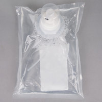 Kutol 68841 1000 mL EZ Foam Dye and Fragrance Free 62% Alcohol Hand Sanitizer Bag   - 6/Case
