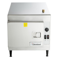 Cleveland 21CET8 SteamCraft Ultra 3 Pan Electric Countertop Steamer - 208V, 1 Phase, 8.3 kW