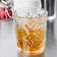 Libbey 5632 Hobstar 12 oz. Double Rocks / Old Fashioned Glass - 12/Case