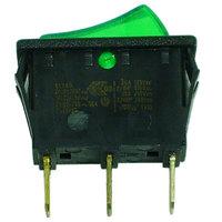 Turbo Air 30281R0300 Green On/Off Rocker Switch