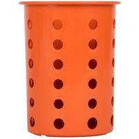 Steril-Sil RP-25-ORANGE Orange Perforated Plastic Flatware Cylinder
