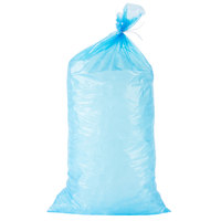 Choice 20 lb. Blue Heavy Duty Plastic Ice Bag   - 500/Case