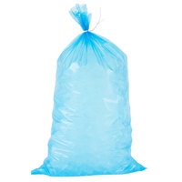 Choice 8 lb. Blue Heavy Duty Plastic Ice Bag   - 1000/Case
