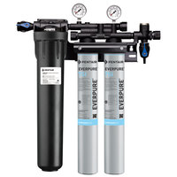 Everpure EV9324-73 Insurice Twin PF-7SI Water Filtration System with Pre-Filter - .5 Micron and 7 GPM