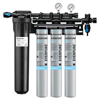 Everpure EV9324-75 Insurice Triple PF-7SI Water Filtration System with Pre-Filter - .5 Micron and 10.5 GPM