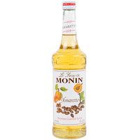 Monin 750 mL Premium Amaretto Flavoring Syrup