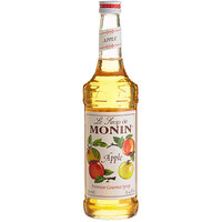 Monin 750 mL Premium Apple Flavoring / Fruit Syrup