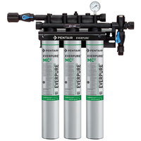 Everpure EV9275-03 QC71 Triple MC2 Filtration System - .5 Micron and 5 GPM