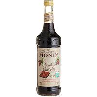 Monin 750 mL Organic Chocolate Flavoring Syrup