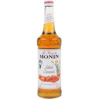 Monin 750 mL Premium Salted Caramel Flavoring Syrup