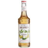 Monin 750 mL Premium Banana Flavoring / Fruit Syrup