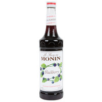 Monin 750 mL Premium Blackberry Flavoring / Fruit Syrup