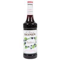 Monin 750 mL Premium Blackberry Flavoring Syrup