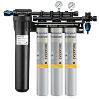 Everpure EV9327-73 Insurice PF Triple 7FC-S Water Filtration System with Pre-Filter - .5 Micron and 7.5 GPM