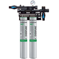 Everpure EV9275-02 QC71 Twin MC2 Filtration System - .5 Micron and 3.34 GPM