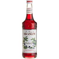 Monin 750 mL Premium Blueberry Flavoring / Fruit Syrup