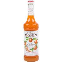 Monin 750 mL Premium Mandarin Flavoring / Fruit Syrup