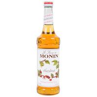 Monin 750 mL Premium Hazelnut Flavoring Syrup