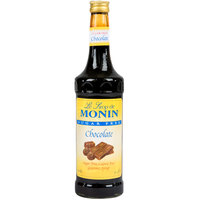 Monin 750 mL Sugar Free Chocolate Flavoring Syrup
