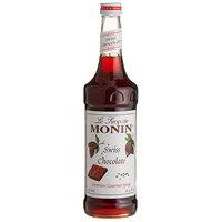 Monin 750 mL Premium Swiss Chocolate Flavoring Syrup