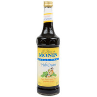 Monin 750 mL Sugar Free Irish Cream Flavoring Syrup