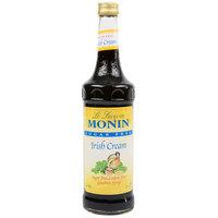 Monin 750 mL Sugar Free Irish Cream Flavoring Syrup