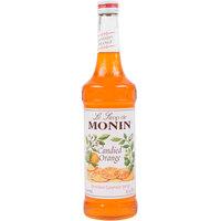 Monin 750 mL Premium Candied Orange Flavoring / Fruit Syrup