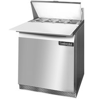 Continental Refrigerator SW27-8C-FB 27 inch 1 Door Cutting Top Front Breathing Refrigerated Sandwich Prep Table