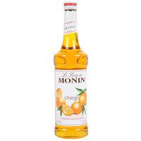 Monin 750 mL Premium Orange Flavoring / Fruit Syrup