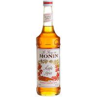 Monin 750 mL Premium Maple Spice Flavoring Syrup