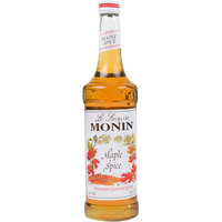 Monin 750 mL Premium Maple Spice Flavoring Syrup