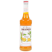 Monin 750 mL Premium Mango Flavoring / Fruit Syrup