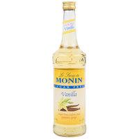 Monin 750 mL Sugar Free Vanilla Flavoring Syrup