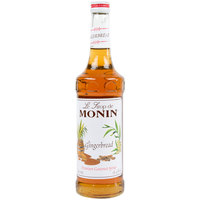 Monin 750 mL Premium Gingerbread Flavoring Syrup