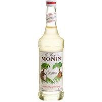 Monin 750 mL Premium Coconut Flavoring Syrup