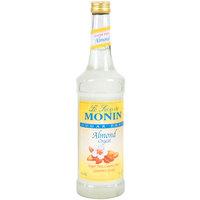 Monin 750 mL Sugar Free Almond (Orgeat) Flavoring Syrup