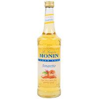 Monin 750 mL Sugar Free Amaretto Flavoring Syrup