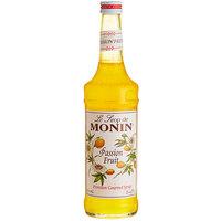 Monin 750 mL Premium Passion Fruit Flavoring / Fruit Syrup