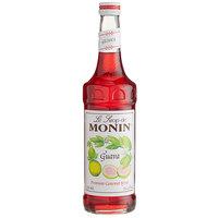 Monin 750 mL Premium Guava Flavoring / Fruit Syrup